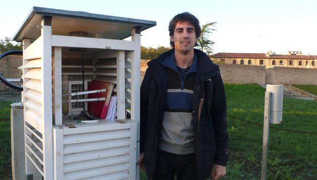 El delegado en Navarra de la AEMET, Francisco Javier Rodríguez