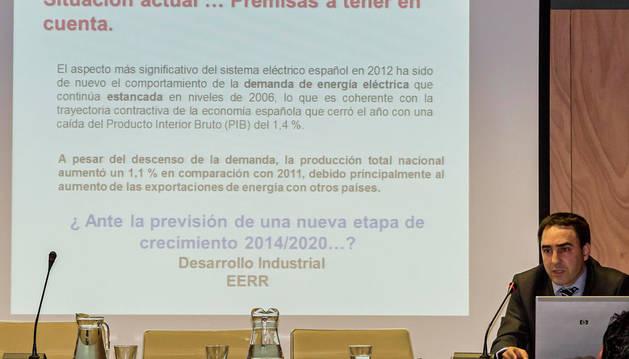 El director general de Industria, Energía e Innovación del Gobierno foral, Iñaki Morcillo