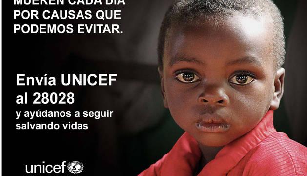 Cartel de la campaña de UNICEF
