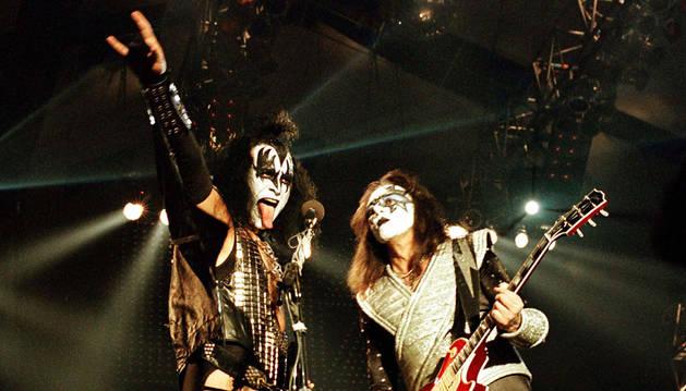 Kiss, en una actuación en Alemania en 1996.
