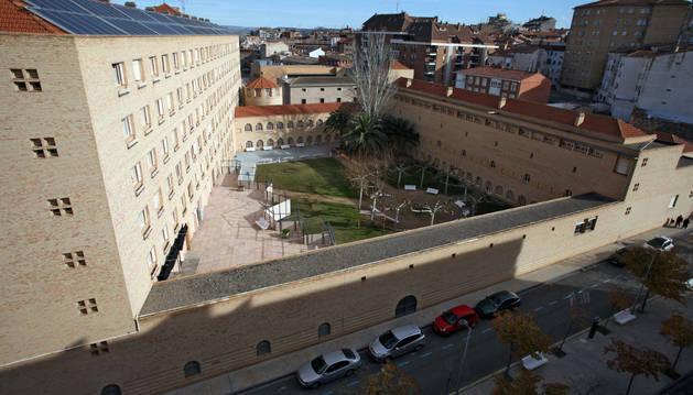 Una imagen de la Real Casa de Misericordia de Tudela.