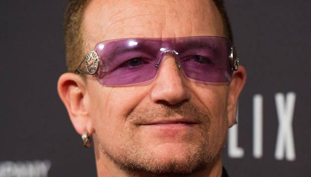 El líder de U2, Bono