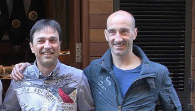 Imanol Arregui y Javi Eseverri