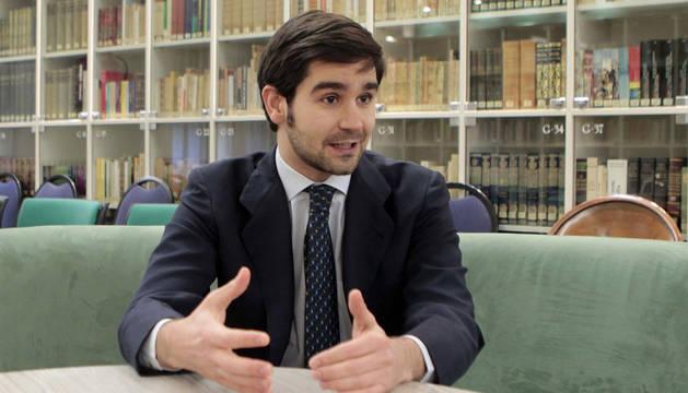 Ignacio Baleztena, delegado del Gobierno de Navarra en Bruselas