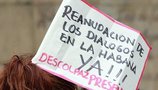 Varias asociaciones piden la continuación del proceso de paz