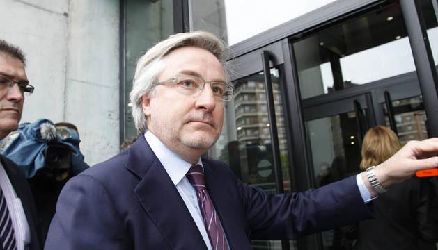 Enrique Goñi no descarta querellarse contra Kontuz