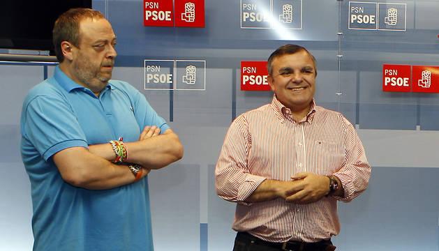 Jorge Mori y Eduardo Vall.