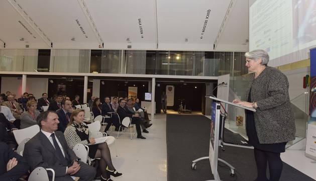 La vicepresidenta Goicoechea en la apertura del foro NEOTEC