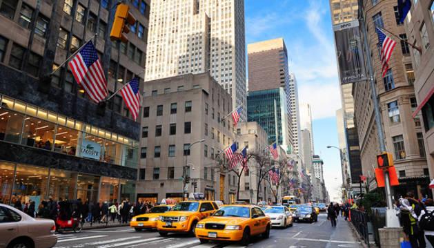 La 5ª avenida de Nueva York,  la calle más cara del mundo