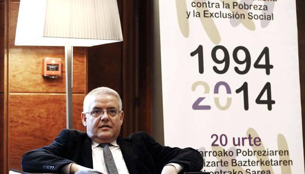 El presidente nacional de la Red Europea de Lucha contra la Pobreza y la Exclusión Social (EAPN), Carlos Susias.