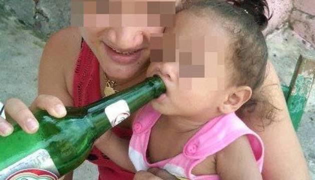 Imagen que la mujer condenada a prisión publicó en Facebook.