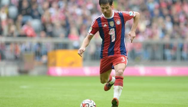 Xabi Alonso, con el Bayern