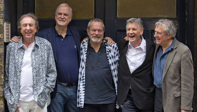 Los Monty Python, en junio de 2014.