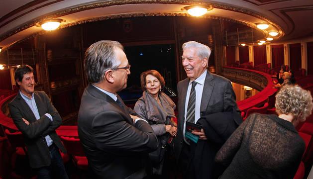 Visita de Mario Vargas Llosa
