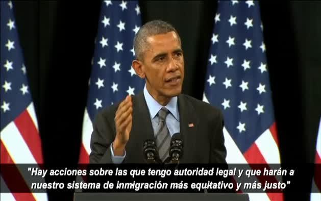 Obama acomete la mayor regularización de inmigrantes
