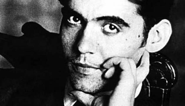 El escritor Federico García Lorca