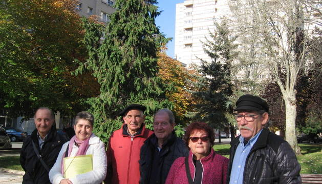 José Luis Tejero, Noemí Sádaba, Joaquín Urrutia, Javier Ayerra, Mª Cruz Cuesta y Alfredo Zarranz.