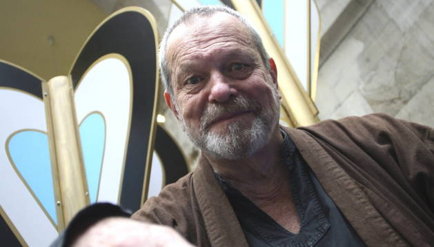 El actor y director británico Terry Gilliam