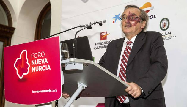 Mariano Barbacid, durante su intervención-