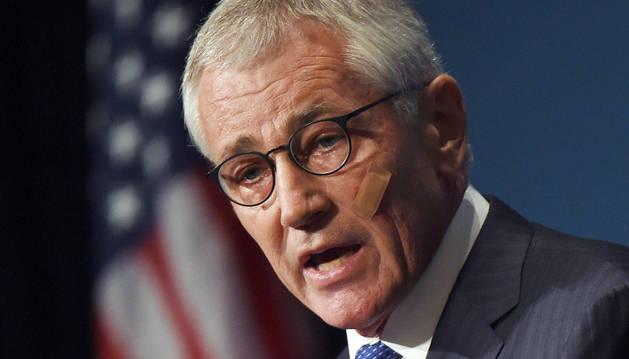 El secretario de Defensa de Estados Unidos, Chuck Hagel