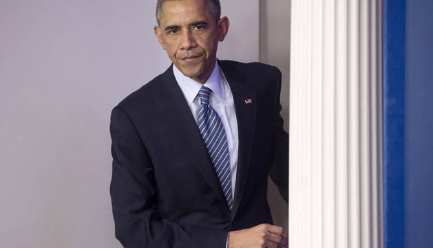 Obama llama a manifestarse