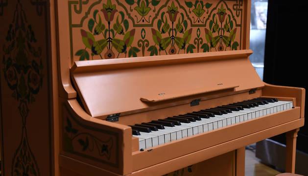 El piano de 'Casablanca' en el que se interpretaba 'As time goes by'.