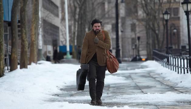 El actor y cantante guatemalteco Oscar Isaac en una imagen de 'Inside Llewin Davis'