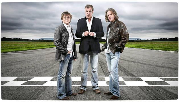Los presentadores del programa 'Top Gear'.