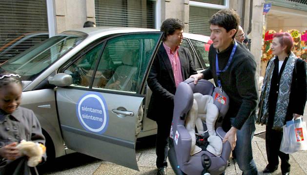 Utilizar los sistemas de retención infantil, uno de los objetivos de la DGT