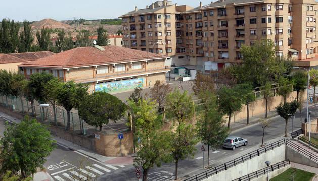 Una imagen del colegio público Virgen de la Cabeza de Tudela, cerrado a final del curso pasado.