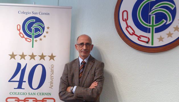 Francisco José Flores, director general de la Cooperativa San Cernin.