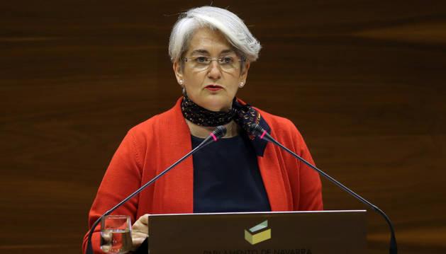 La consejera, Lourdes Goicoechea