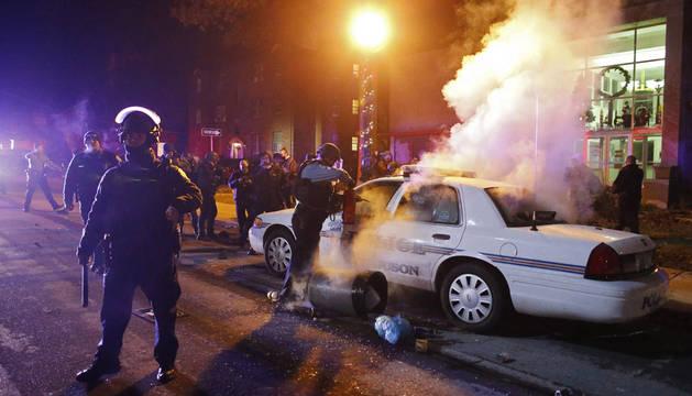 La indignación de Ferguson se extiende a 170 ciudades en EE UU