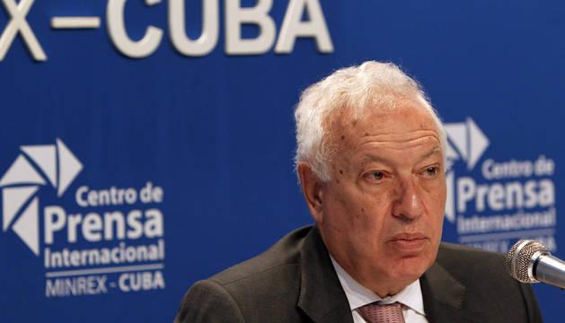 Margallo finaliza su viaje a Cuba sin ver a Raúl Castro