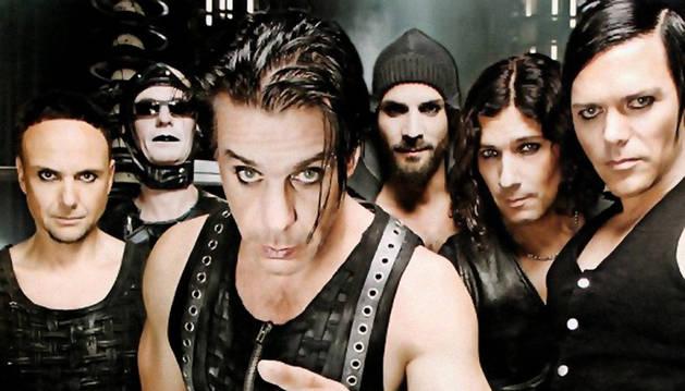 El grupo Rammstein.