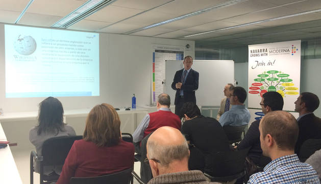 Un momento del seminario sobre financiación
