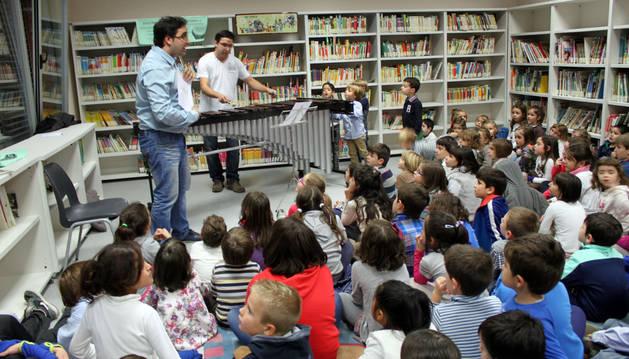 Cuentacuentos musical en Cintruénigo