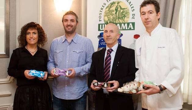 Postres Ultzama lanza nuevos yogures de leche de oveja con frutas tropicales