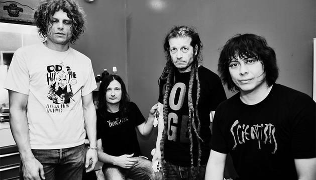La banda de punk Off!.