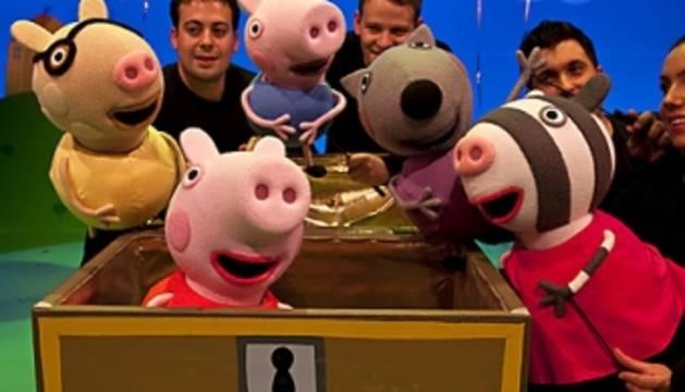 El musical de Peppa Pig, este domingo en Baluarte