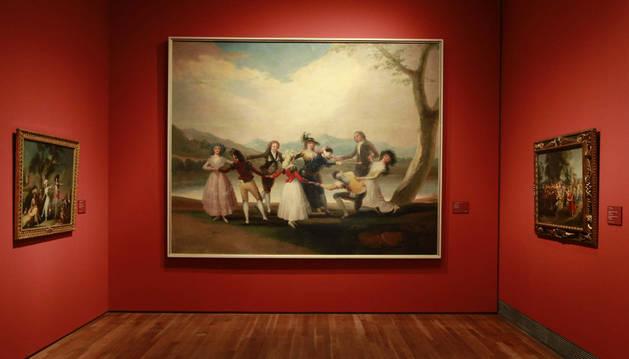 Una de las obras de la exposición sobre Goya