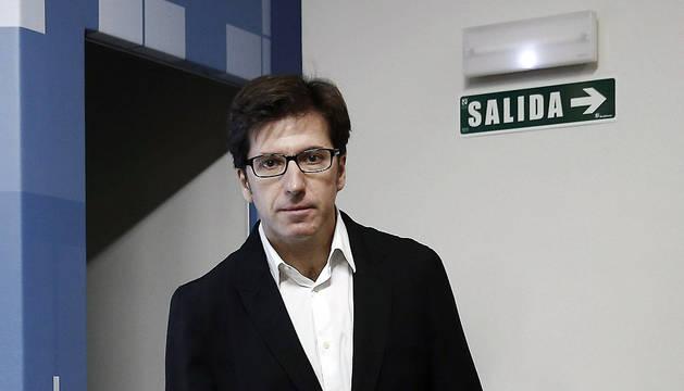 El diputado del PSN-PSOE, Juan Moscoso del Prado