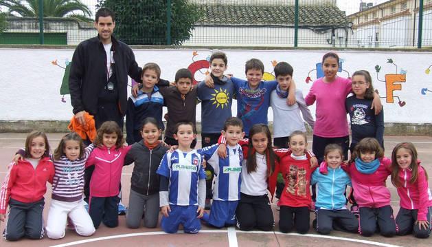 Niños de Cadreita comparten juegos de distintos países
