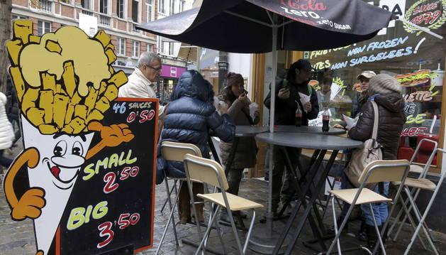 Bélgica quiere que la patata frita sea un icono gastronómico