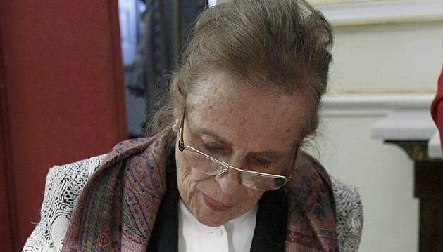 La poetisa María Victoria Atencia