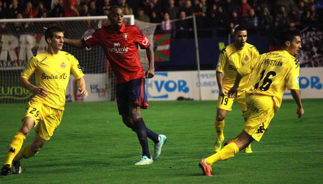 Raoul Loé, contra el Girona