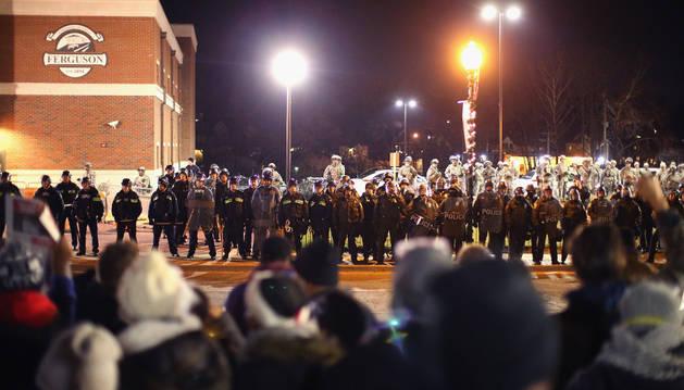 Nuevas protestas en Ferguson.