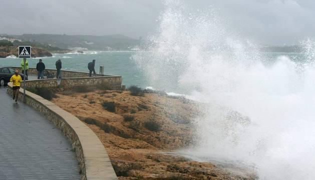 El temporal en Tarragona