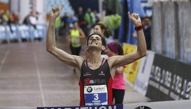 Pedro Nimo, campeón de España de maratón
