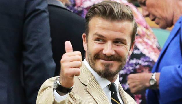 David Beckham sufre un accidente de tráfico junto a su hijo